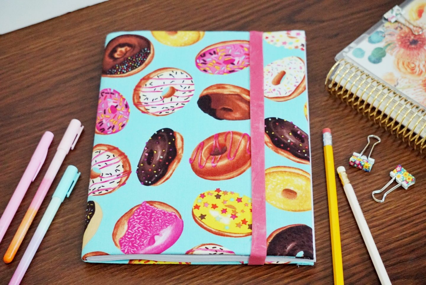 Turn Your Plain Notebook into a Cute Daily Journal