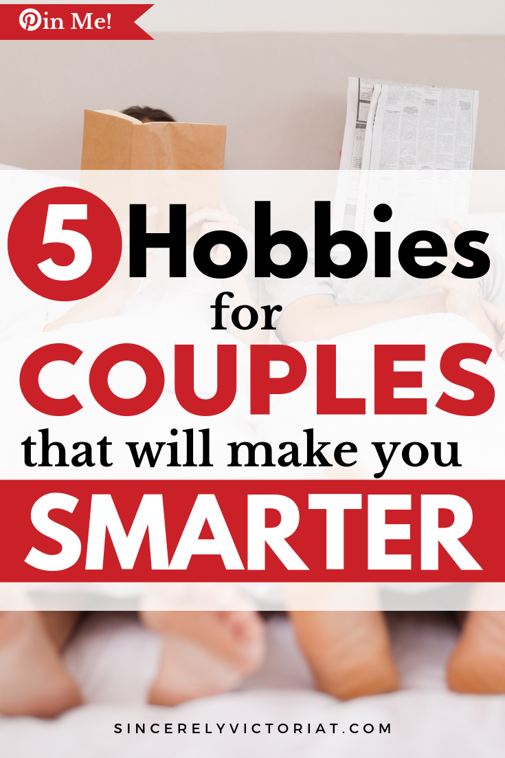 Hobbies for Couples | www.SincerelyVictoriaT.com Lifestyle, Motherhood, Marriage, Wellness, Home and Productivity Tips and Advice. REPIN AND CHECK IT OUT for MORE GREAT IDEAS. @victoriatiffny #marriage #familyactivites #datenight