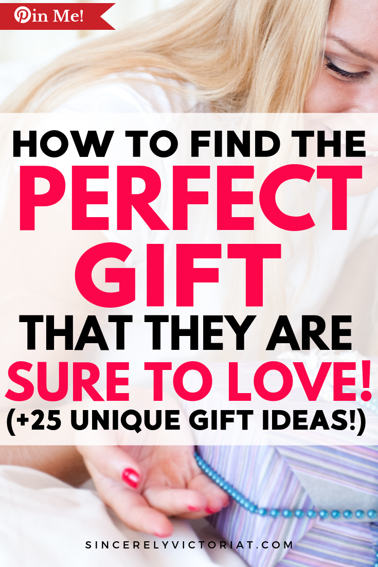 The pressure to find the perfect gift can make the gift-giving process seem daunting. In this blog post, I am sharing with you my favorite tips on how to find and give the perfect gift.  | SincerelyVictoriaT.com @victoriatiffny