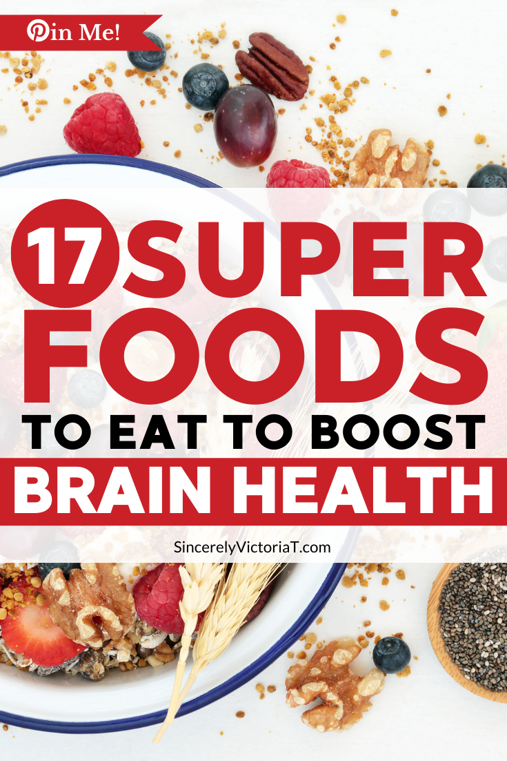 Mental wellness depends on a strong and healthy brain. Eat these super foods to boost brain health to live a happier and healthier life.
