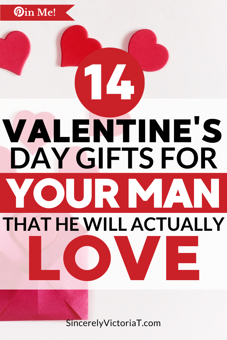Before buying gifts for him, take a moment and think about your man. To give a thoughtful gift, consider his likes and interests and start there. Valentine's Day Gifts for Him