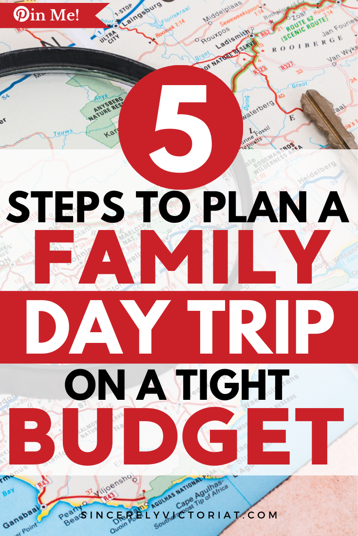 To plan a day trip that your family will look forward to, you have to plan in advance. Here are 7 easy steps to plan the perfect family day.