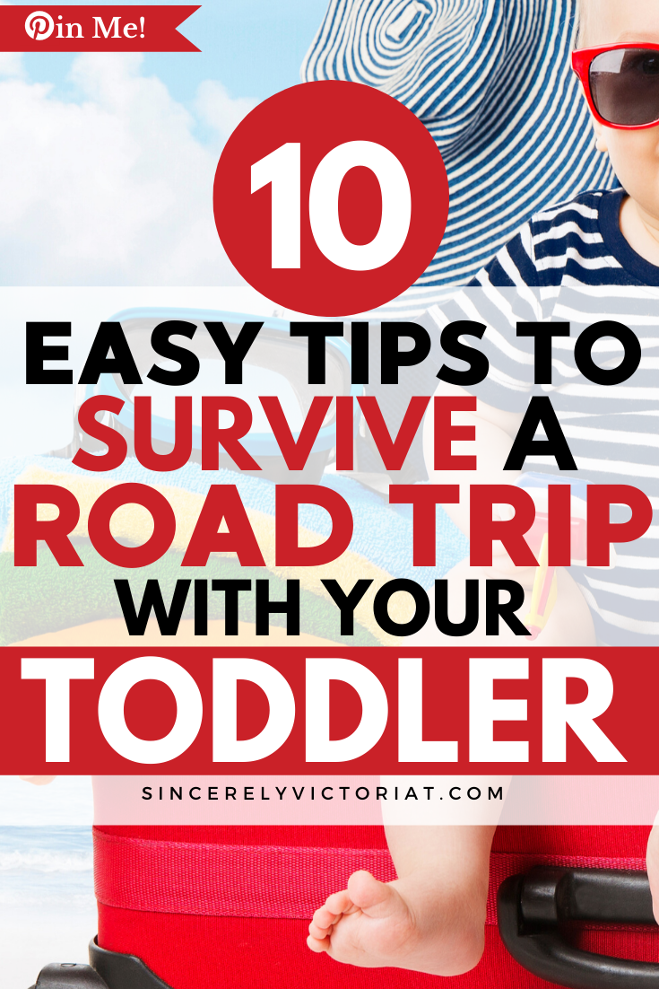 If you are hesitant to travel with your toddler, don't be! With a little love and preparation, you can survive a road trip with your toddler. Here's how.