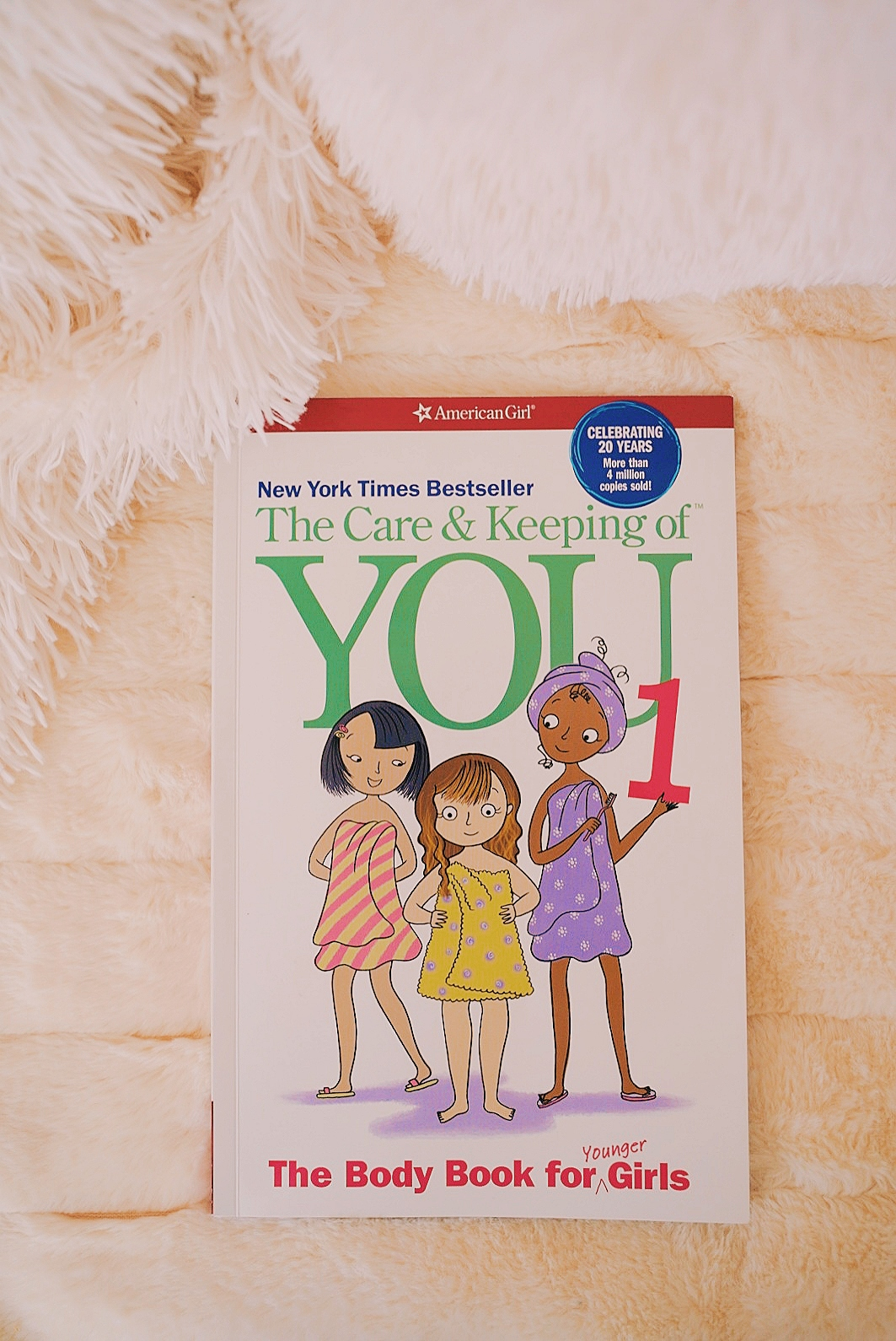 #1 Best Book for the Preteen Girl | SincerelyVictoriaT.com American Girl The Care and Keeping Of You